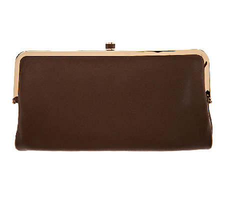 G.I.L.I Mini Clutch Lamb Leather Wallet