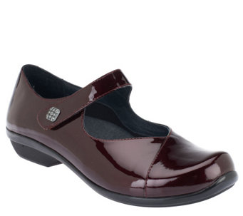 Dansko Leather Mary Janes with Button - Opal - A258079