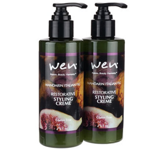 WEN by Chaz Dean Styling Creme w/ Rice Protein Duo - A260079