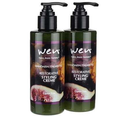 WEN by Chaz Dean Styling Creme w/ Rice Protein Duo