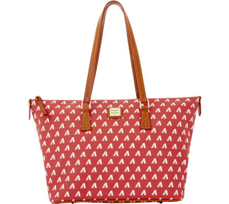 Dooney & Bourke MLB Diamondbacks Zip Top Shopper