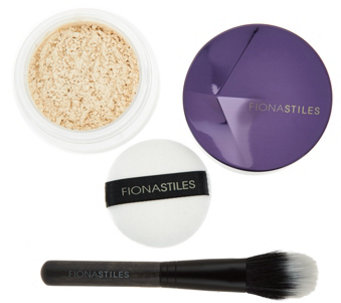 Fiona Stiles Finishing Powder w/ Brush - A286879