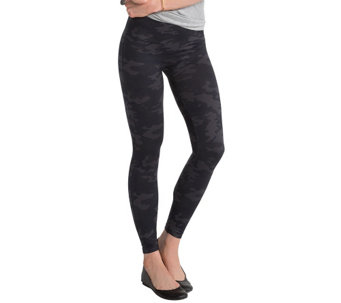 """As Is"" Spanx Seamless Camo Leggings - A290079"