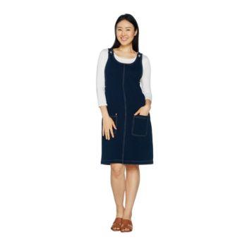 Quacker Factory DreamJeannes Jumper Dress