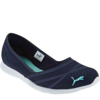 PUMA Slip-On Mesh Sneakers - Vega Ballet Flume