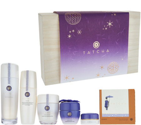 TATCHA 6-piece Grand Holiday Skincare Collection