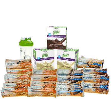 Nutrisystem 21-day Supply Grab-and-Go bars withTurbo Shakes