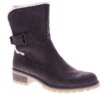 Spring Step Leather Ankle Boots with Lug Outsole - Gloucester - A338079