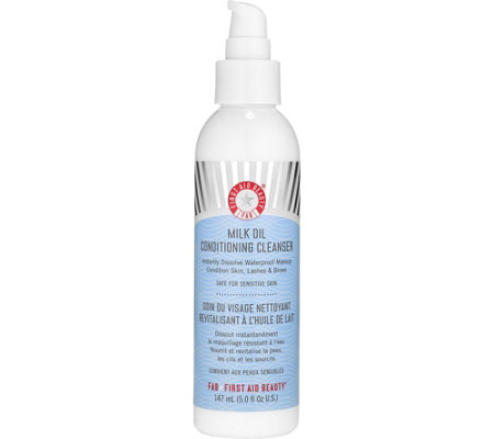 First Aid Beauty Milk Oil Conditioning Cleanser, 5 oz