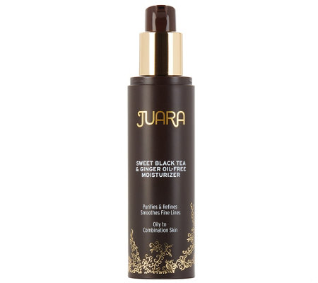 JUARA Sweet Black Tea & Ginger Oil-Free Moisturizer, 1.7 oz