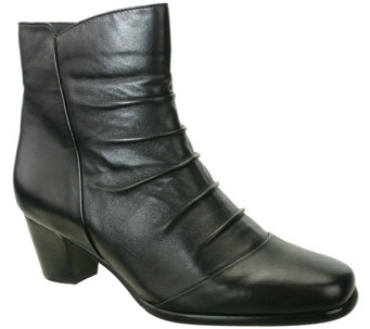 David Tate Leather Ankle Boots - Nora - A341379