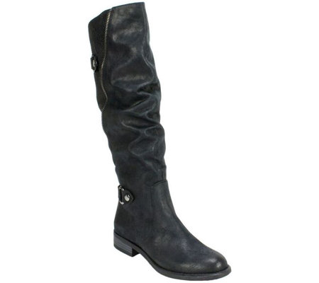 White Mountain Tall Shaft Boots - Leto