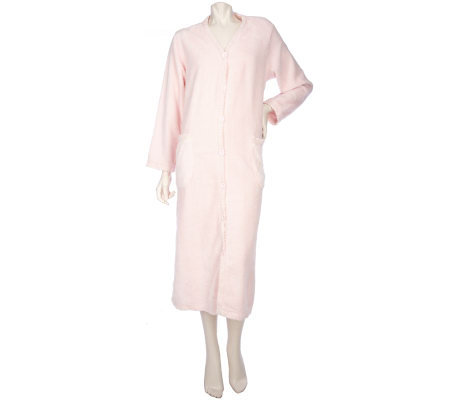 Stan Herman Ultimate Chenille Button Front Robe