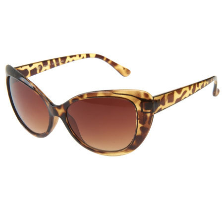 Wendy Williams Classic Cat Eye Design Sunglasses