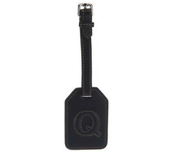 Aimee Kestenberg Pebble Leather Initial ID Tag - A236180
