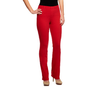 Isaac Mizrahi Live! Regular Knit Denim Pants - A240480