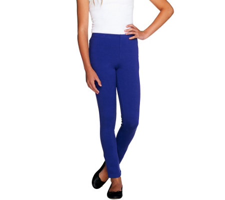 LOGO Littles by Lori Goldstein Knit Pull-On Slim Pants
