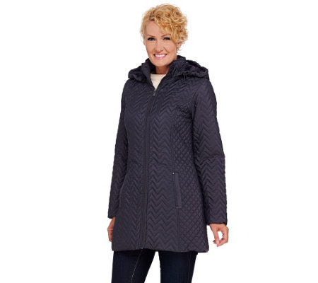 Liz Claiborne New York Packable Quilted Jacket