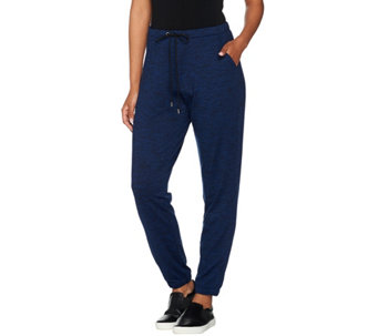 H by Halston Reg Full Length Pull-On Tapered Jogger Pants - A278980