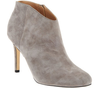 Sole Society Leather or Suede Ankle Boots - Daphne - A279880