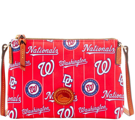 Dooney & Bourke MLB Nylon Nationals Crossbody Pouchette