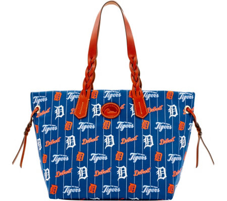Dooney & Bourke MLB Nylon Tigers Shopper