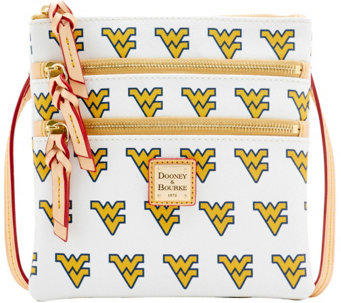 Dooney & Bourke NCAA West Virginia University Zip Crossbody - A283480