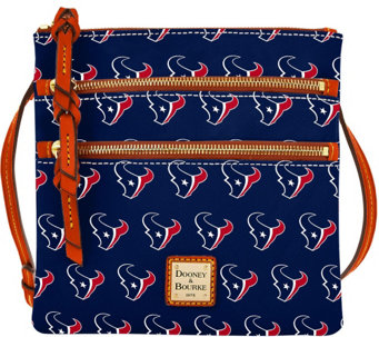 Dooney & Bourke NFL Texans Triple Zip Crossbody - A285680