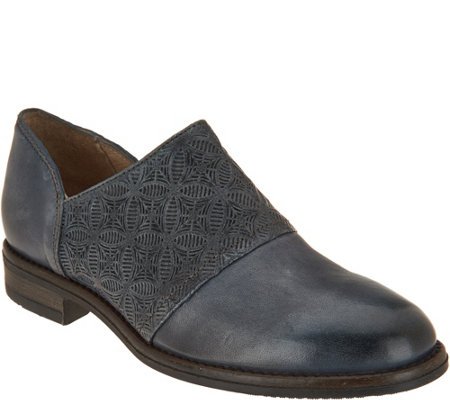 Miz Mooz Leather Slip-on Oxfords - Tennessee