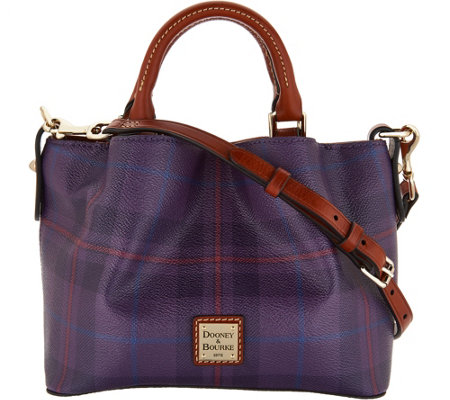 Dooney & Bourke Tiverton Plaid Mini Barlow Crossbody