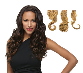 "Hairdo 18"" 8-pc Wavy Extension Kit - A331780"