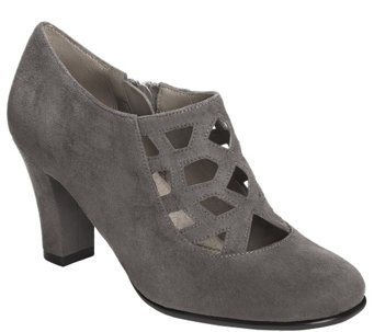 Aerosoles Heel Rest Booties - Petroleum - A355280