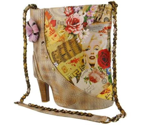 L`Artiste by Spring Step Leather Crossbody - Fabnfun