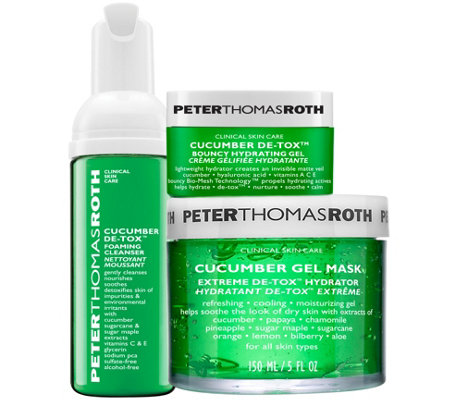 Peter Thomas Roth Cucumber De-Tox and De-StressKit