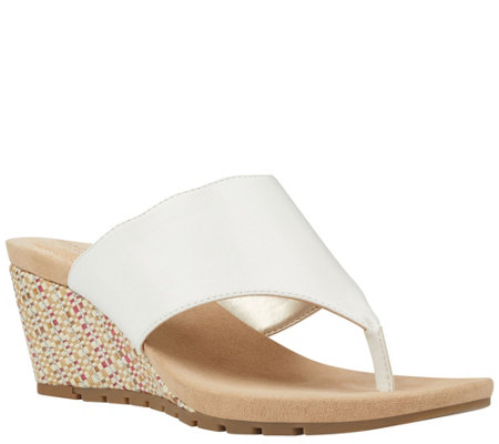 Bandolino Casual Wedge Sandals - Sarita