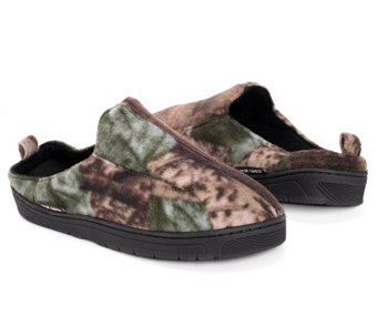 QuietWear Men's Camo Clog with Fleece Lining - A170081
