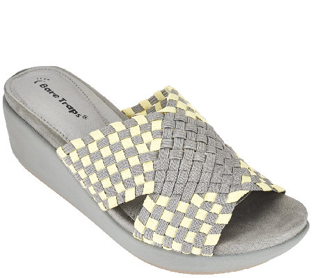 BareTraps Woven Fabric Wedge Sandals - Ellsa