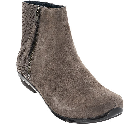Dansko Leather or Suede Ankle Boots - Otis