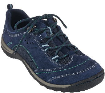 Earth Origins Suede Water Resistant Sneakers - Kamryn - A270081