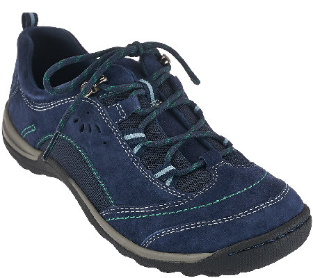 Earth Origins Suede Water Resistant Sneakers - Kamryn