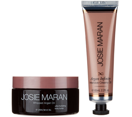 Josie Maran Argan Delicious Body Butter & Infinity Cream