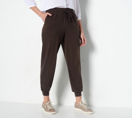 AnyBody Loungewear Regular Cozy Knit Jogger Pants