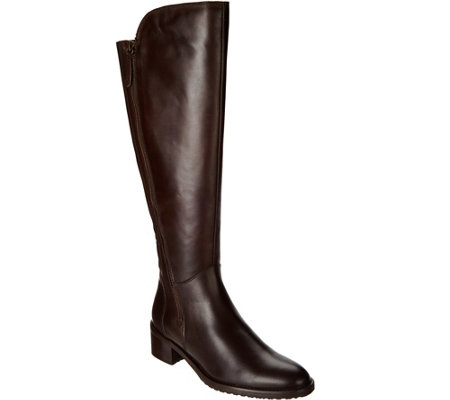 Clarks Artisan Leather Riding Boots - Valana Melrose