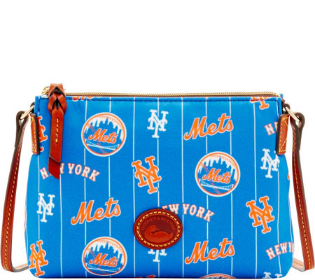 Dooney & Bourke MLB Nylon Mets Crossbody Pouchette