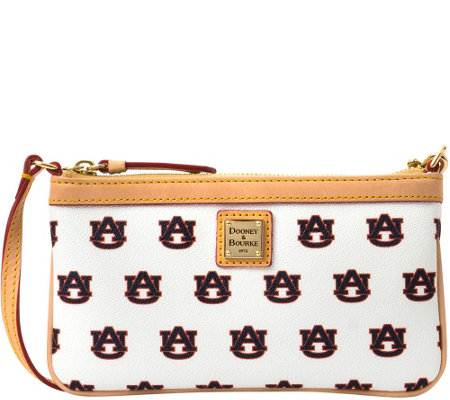 Dooney & Bourke NCAA Auburn University Slim Wristlet