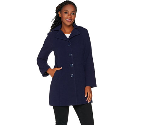 Joan Rivers Classic Swing Coat