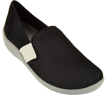 Clarks Cloud Steppers Mesh Slip-on Shoes - Sillian Oak - A285381