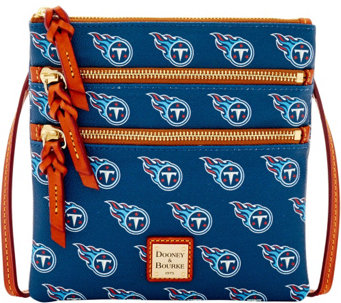 Dooney & Bourke NFL Titans Triple Zip Crossbody - A285681