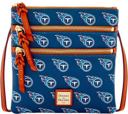 Dooney & Bourke NFL Titans Triple Zip Crossbody