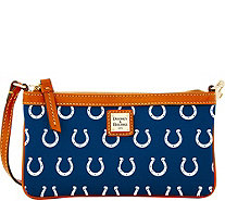 Dooney & Bourke NFL Colts Large Slim Wristlet - A285781